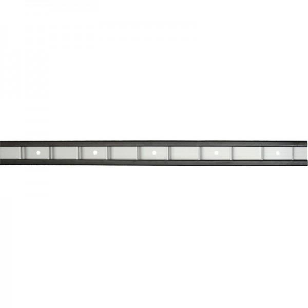 Stäbchenzurrschiene mit PVC-Schutz, L 3000 mm, Alu