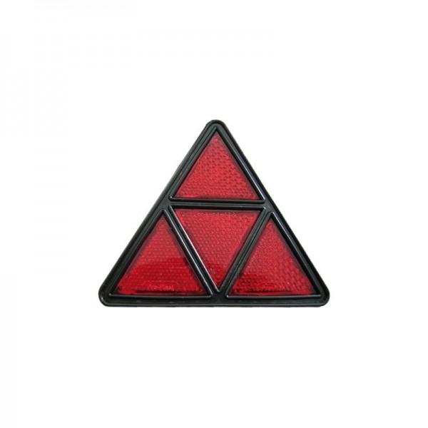 Dreieckrückstrahler rot stabile Ausführung untert