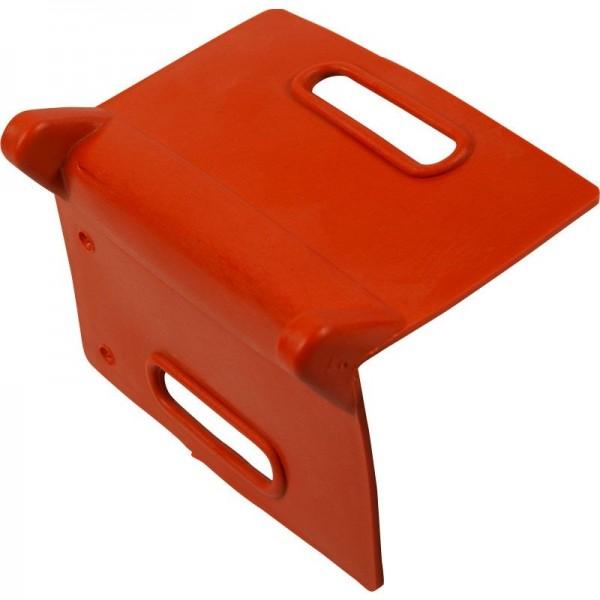 Kantenschutzwinkel für 50 mm Zurrgurte, rot