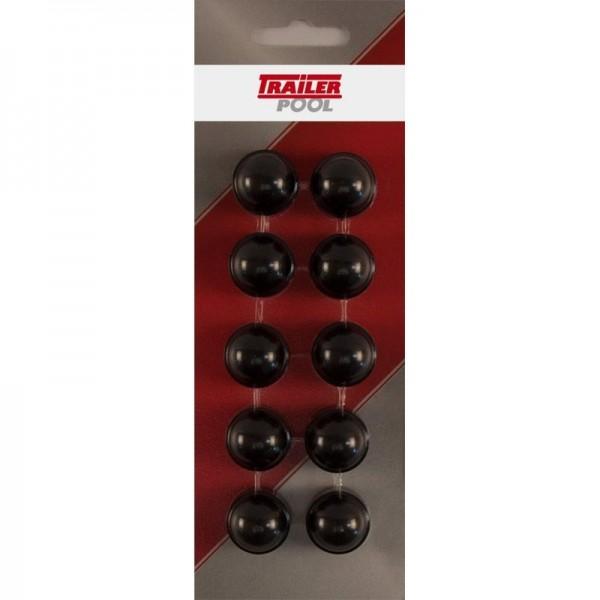 10 x Sechskant-Schutzkappe f. Schraube M10 SW 17mm