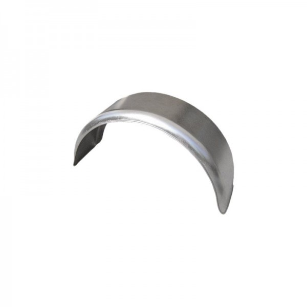 Einachs-Kotflügel rund, Stahl, B 220 mm, SW 800 mm