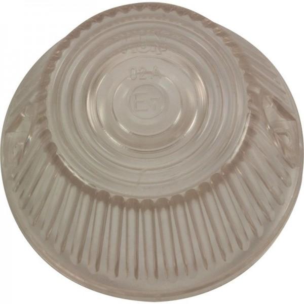 Lampenglas rund weiss