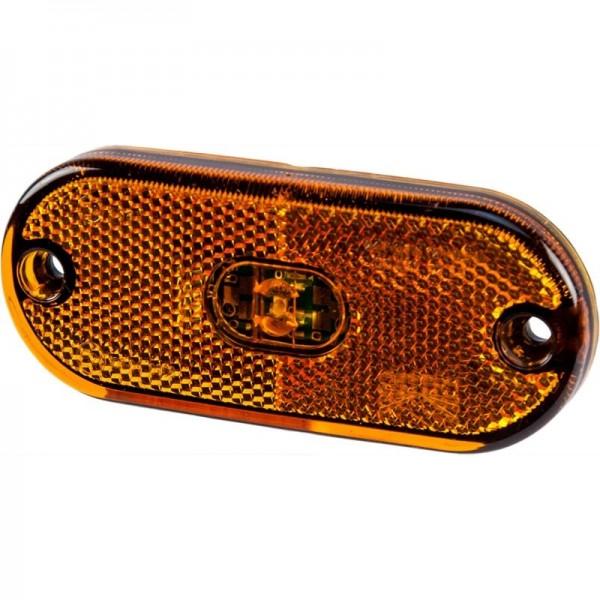 Seitenmarkierungsleuchte LED Flatpoint 3, gelb