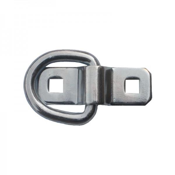 Bügel/Ring für Zurrmulde, Bügel 70 x 25 mm, 400daN