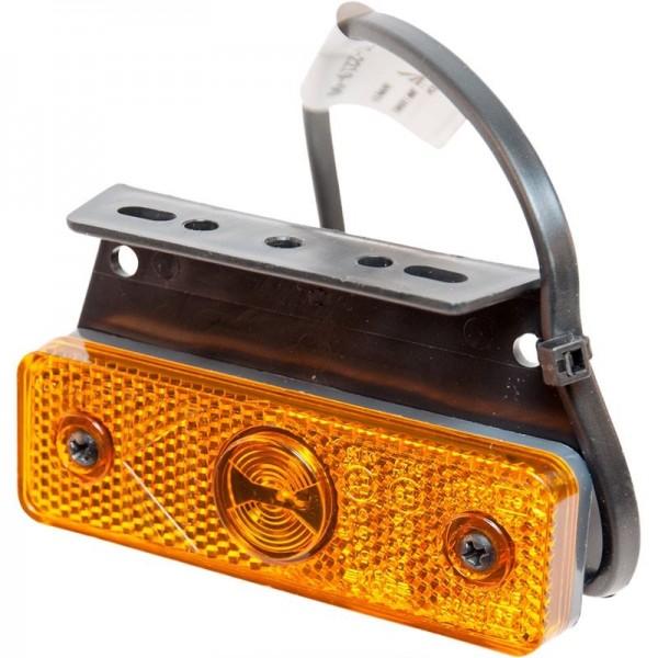 Begrenzunsleuchte LED Aspöck Flatpoint I, Gelb