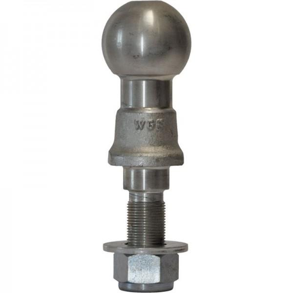 Kupplungskugel für Ackerschiene bis 2 to. M 22 x
