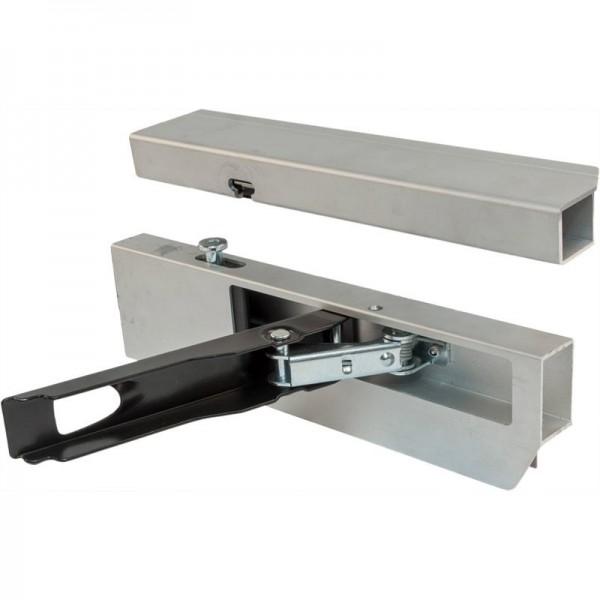 Alu-Einfassverschluss 25mm, f. 400er BW, links,