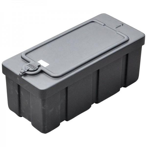 Kunststoff-Staubox PE schwarz L510 B220 H215 mm