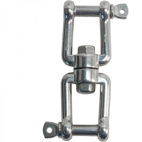 Wirbel V4A, Bolzen-Ø 16 mm, Tragfähigkeit 2500 kg