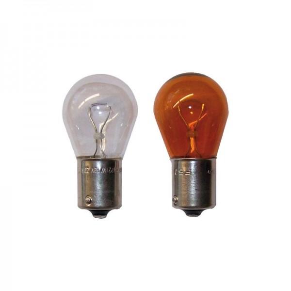 Kugelbirne 12 V 21 W, orange