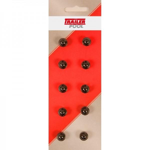 10 x Sechskant-Schutzkappe für Schraube M5, SW 8mm