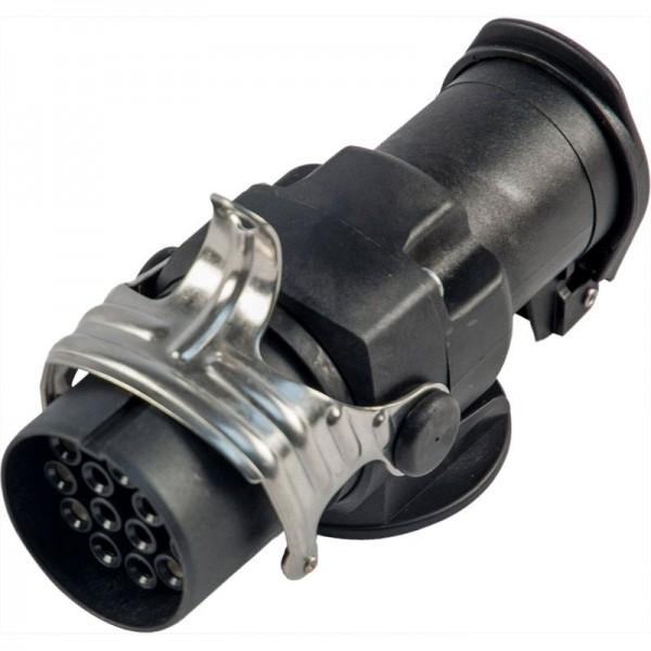 Kurzadapter 24 Volt, 15-pol. zu 7-pol., Kunststoff