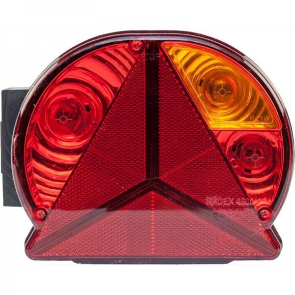 Leuchte Radex 4900, rechts, Bajonett, KZL