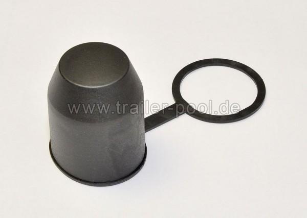 Schutzkappe mit Stangehalterung schwarz