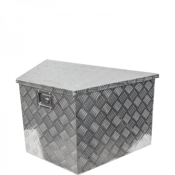 Aluminium-Staubox für V-Deichsel, 595/500x360x300
