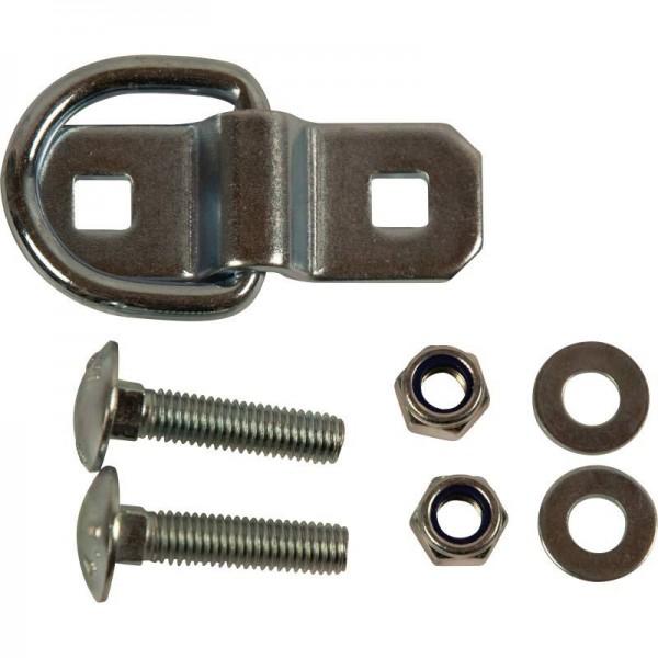Bügel/Ring für Zurrmulde, inkl. Schrauben, 400daN