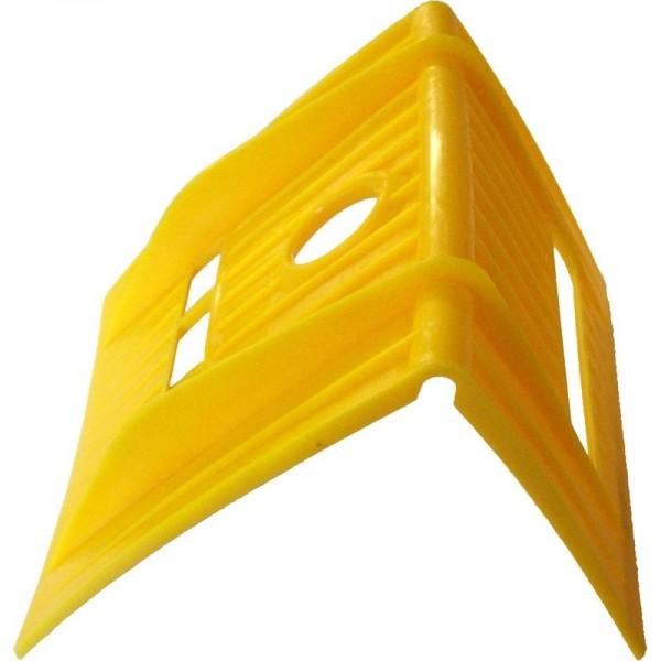 Kantenschutzwinkel für 75 mm Zurrgurte, gelb