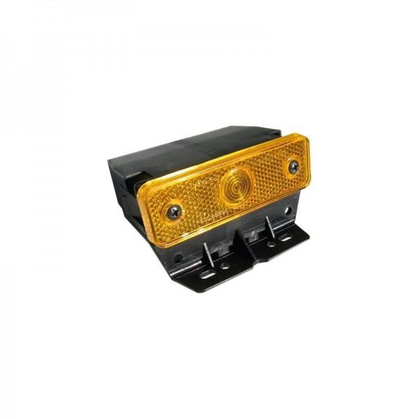 Seitenmakierungsleuchte gelb mit Befestigungswink