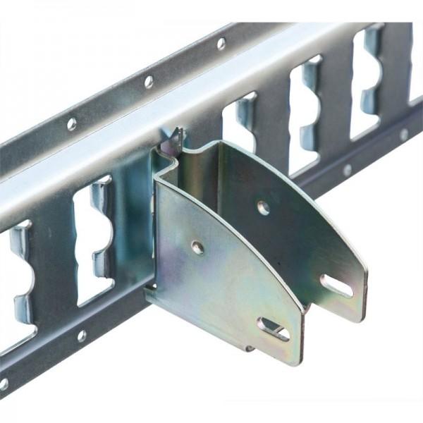 Balkenschuh für Kombiankerschiene, Stahl verzinkt