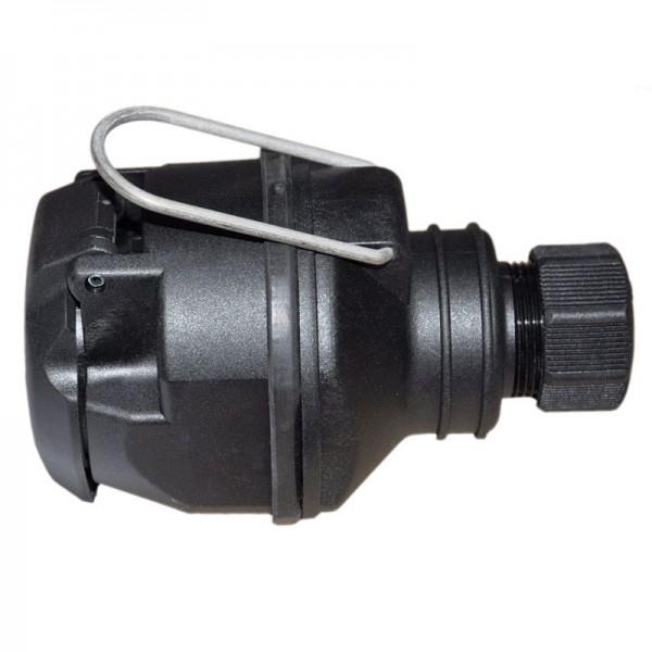 Kupplungsdose 13-polig, 12V, Kunststoff