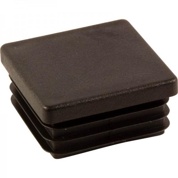 Kunststoff-Stopfen 25 x 25 mm, Wandstärke 1,5-2 mm