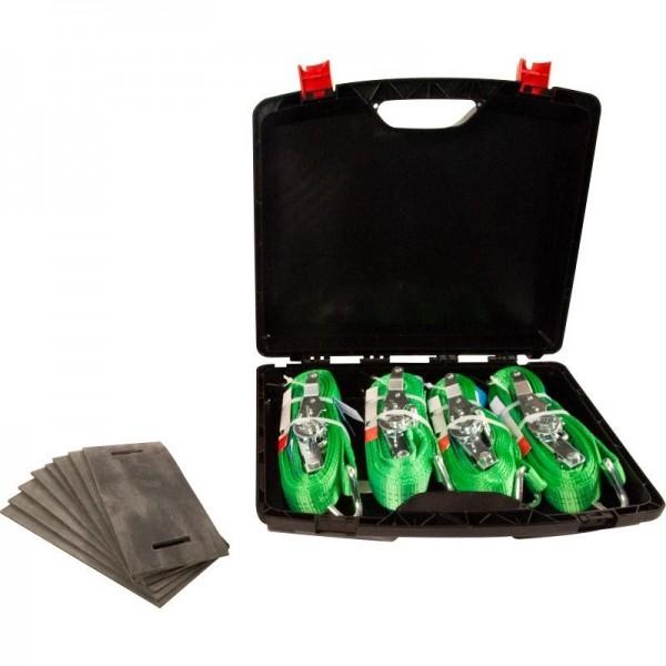 Zurrgurt Kofferset, mit Kantenschutz
