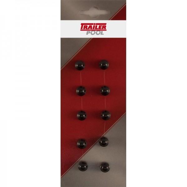 10 x Sechskant-Schutzkappe für Schraube M4, SW 7mm