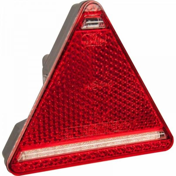 Dreieckrückleuchte LED, rechts, 12-24 V, mit KZL