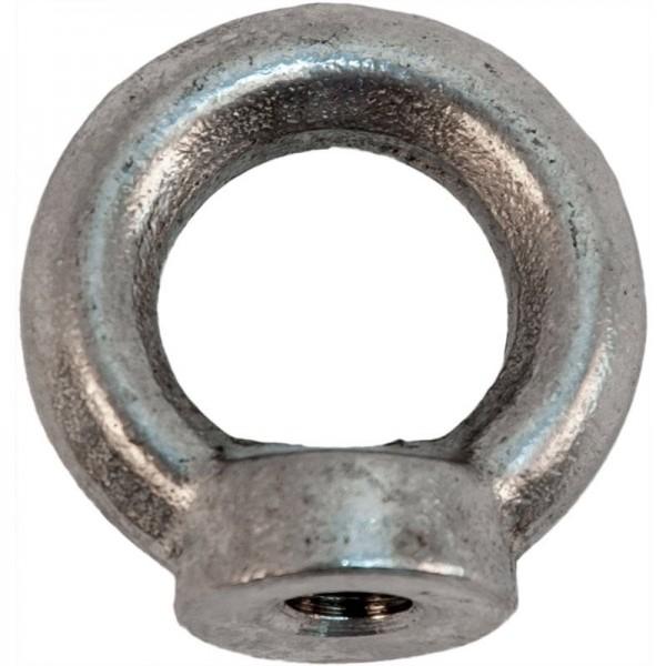 Ringmutter V4A, M6, Tragfähigkeit 80 kg