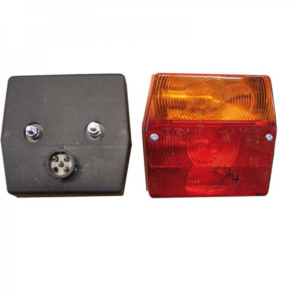Lichtscheibe 3-Kammer-Leuchte Minipoint, li.+re.
