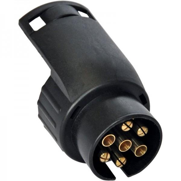 Kurzadapter, 7- auf 13-Pol, Länge 45 mm