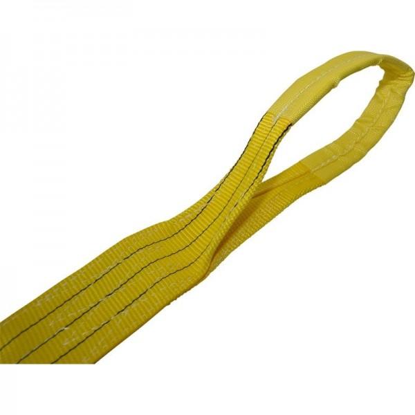Euro-Hebeband 3000 kg, L 5000 mm, B 90 mm, gelb