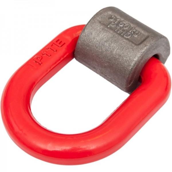Beschlag mit Ring zum Anschweißen, Tragfahigkeit 3