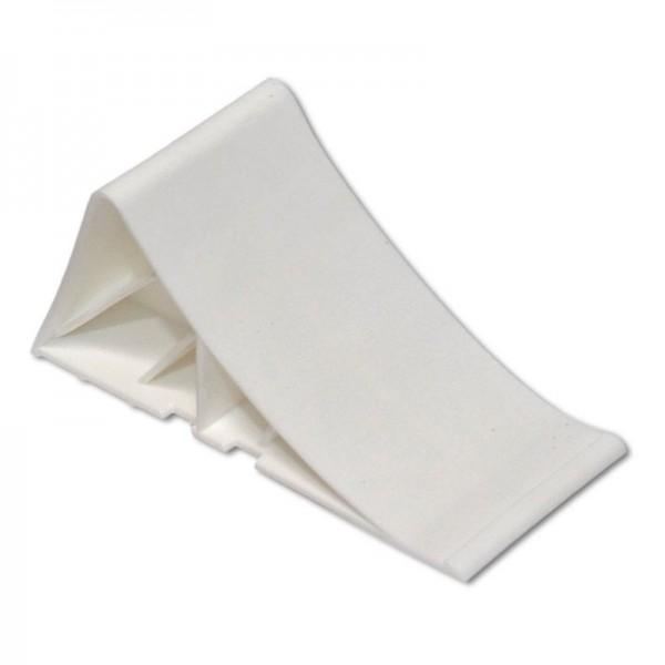 Unterlegkeil, L 220 mm, Kunststoff, weiß