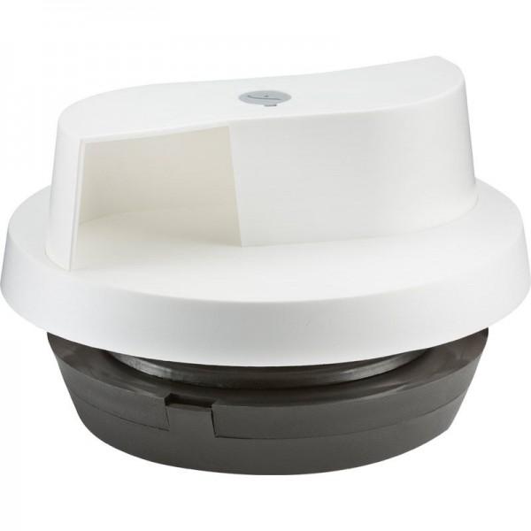 Windbetriebener Ventilator, Ø 226 mm, weiß