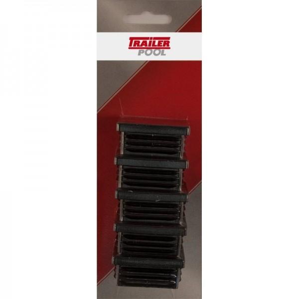 5 x Kunststoff-Stopfen 45 x 45 mm, WS 1,5-2 mm
