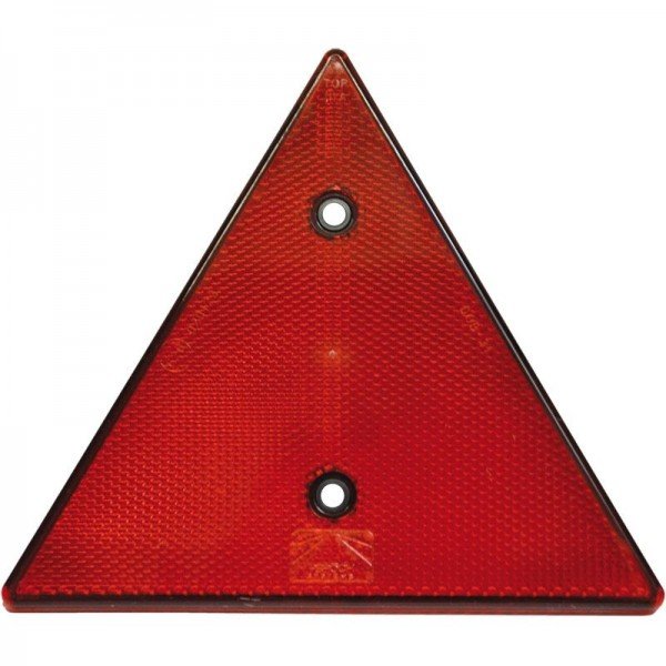 Dreieckrückstrahler, rot, zum Schrauben