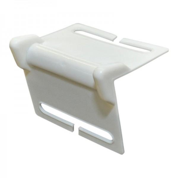 Kantenschutzwinkel für 50 mm Zurrgurte, weiß
