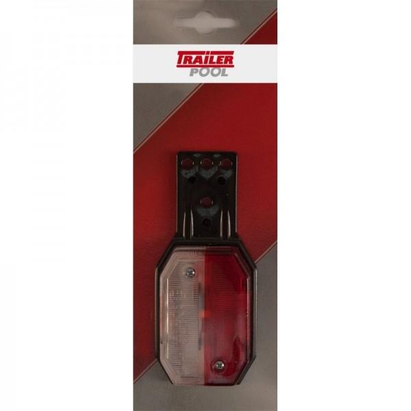 Aspöck Begrenzungsleuchte Flexipoint-H rot/weiß
