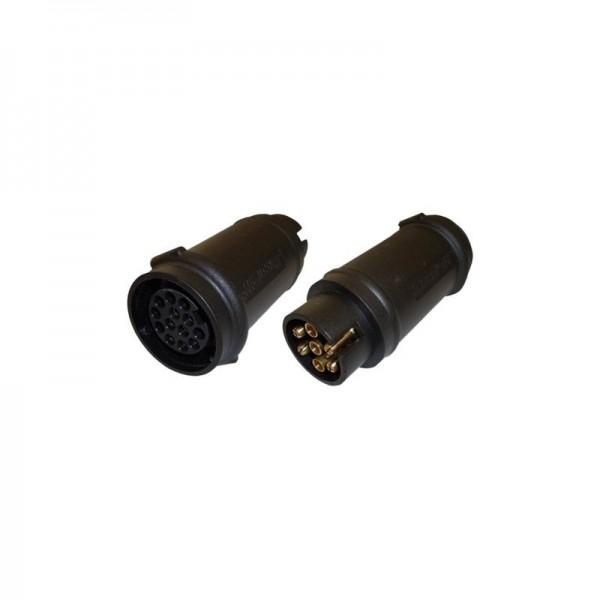 Adapter, 7- auf 13-Pol, Länge 110 mm