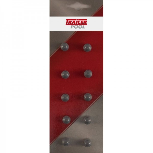 10 x Sechskant-Schutzkappe f. Schraube M4, SW 7 mm