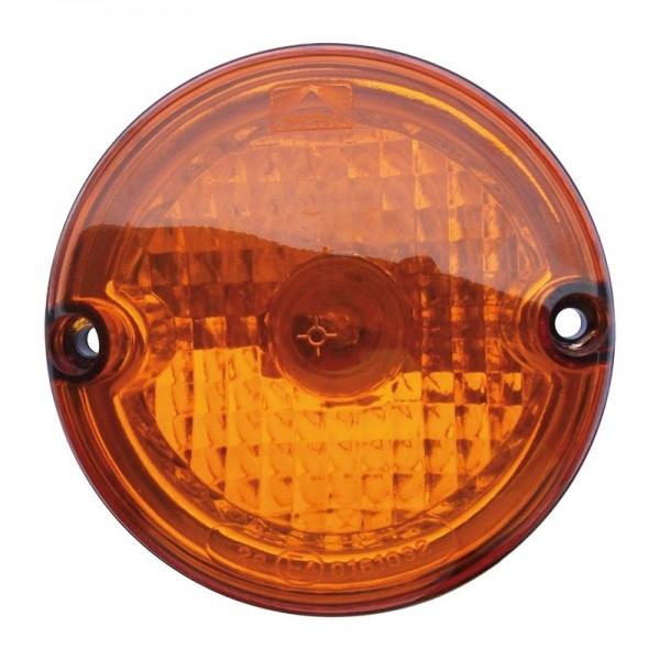 Aspöck Roundpoint - Blinklicht, gelb