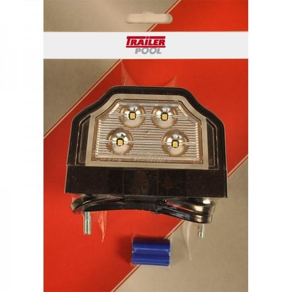 Kennzeichenleuchte LED, mit Sockel, 500 mm Kabel m