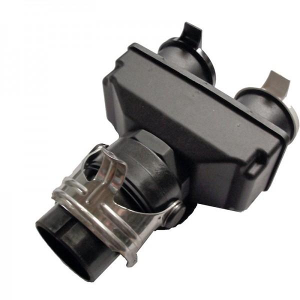 24 Volt Kurzadapter 1 x 15 Pol-Stecker zu 2 x 7