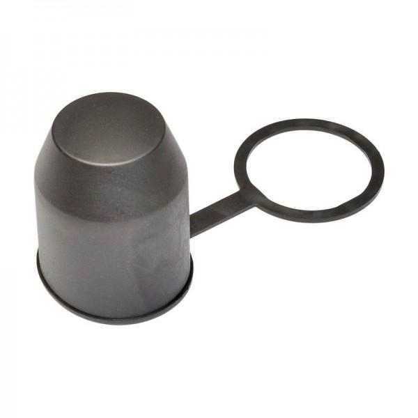Schutzkappe mit Stangenhalterung, schwarz