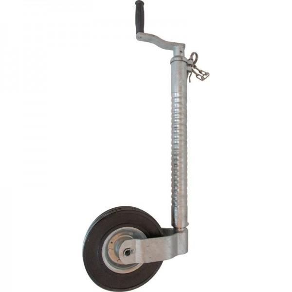 Stützrad Ø 48 mm, Stützlast 200 kg, Metallfelge