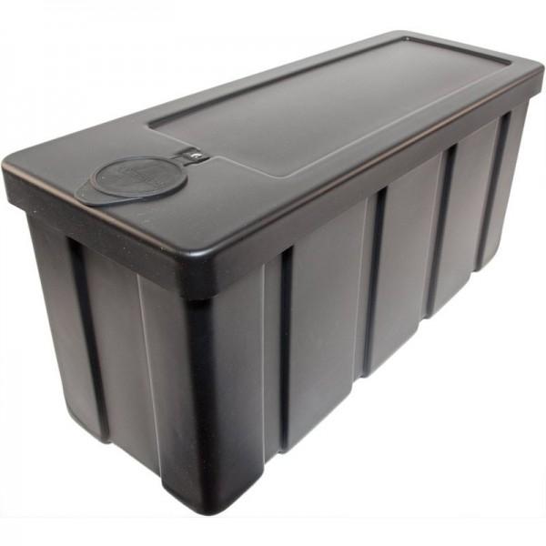Kunststoff-Staubox PE schwarz L650 B245 H310 mm
