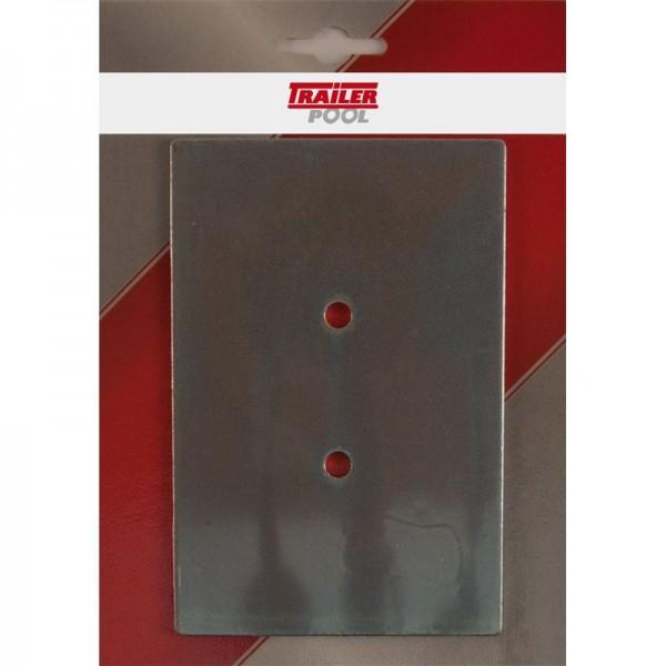 Gegenplatte Gr.0 für Zurrmulde 013003007 verpackt