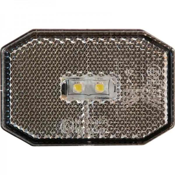 Aspöck Begrenzungsleuchte Flexipoint LED , weiß