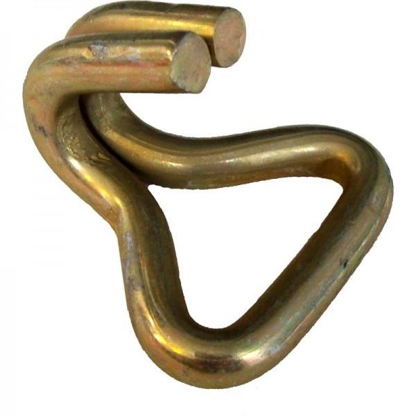Spitzhaken für Gurtband 35 mm, Haken-Ø 20 mm